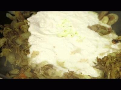 Gamberi al latte di cocco