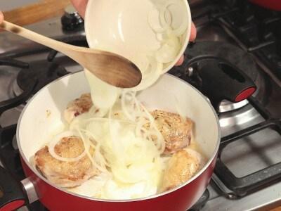 Pollo con latte di cocco malgascio