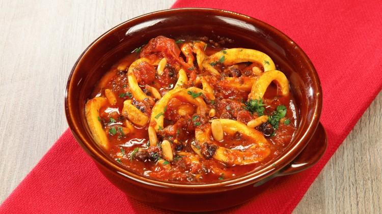 Calamari in tegame ricetta tipica sicilia cookaround