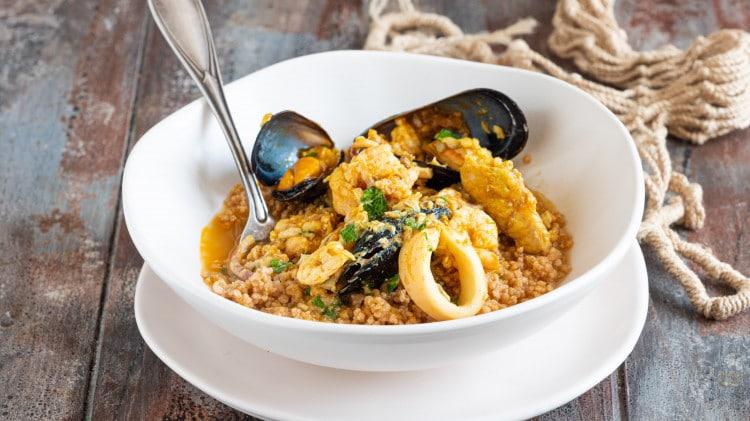 Ricetta con cous pesce