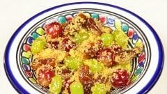 Cous cous dolce alla frutta