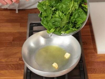 Risotto seppie e spinaci