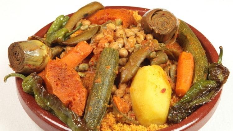 Cous cous di verdure tunisino