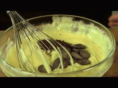 Margherita farcita alla crema di caffè