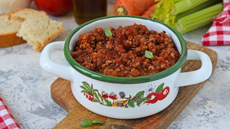 Ricetta ragu carne di manzo
