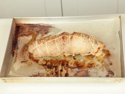 Rotolo di prosciutto in crosta
