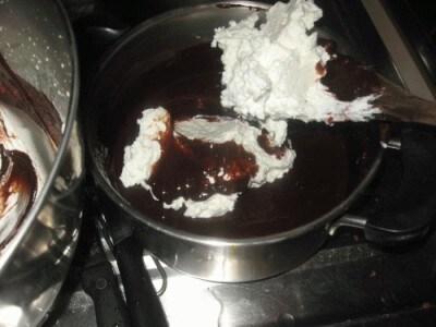 Crema al cioccolato ed arancia