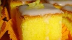 Quadrotti dolci al limone