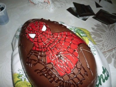 Uovo di Pasqua di Spiderman