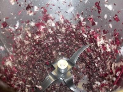 Rose di crepes al radicchio e besciamella