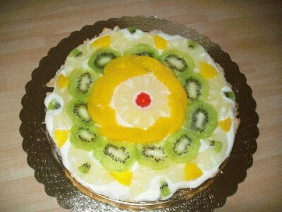 Crostata di mandorle alla frutta