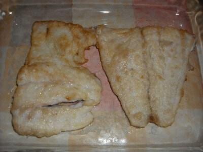 Filetti di persico agli champignon