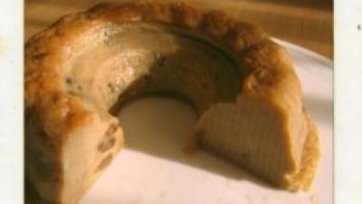 Budino di pane al microonde