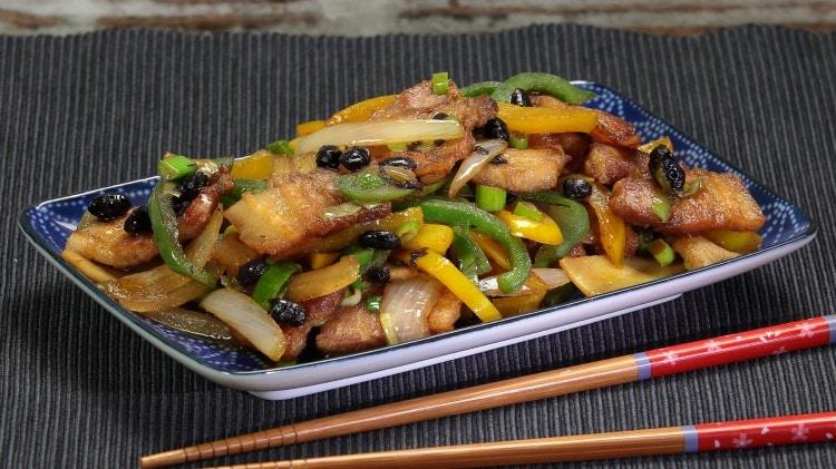 Pancetta speziata in stile dello Sichuan