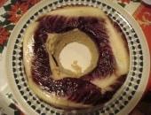 Corona di riso con carciofi e radicchio