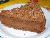Cheesecake alla nutella con ganache al cioccolato