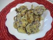 Frittelle di radicchio ( fritte ed al forno ) dalla sfida
