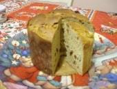 panettone con lievito naturale di kamut senza canditi e zucchero bianco