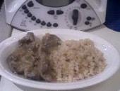 ossobuco alla milanese con riso pilaf