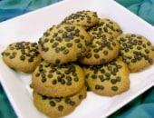 Biscotti al pistacchio e ciccolato.