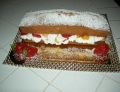 Un plum cake per l'estate