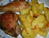 Tacchino aromatico arrosto con patate