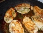 Petto di pollo ripieno di pesto e pancetta
