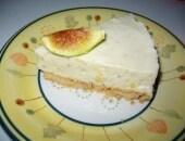 Torta fredda alla crema ai fichi