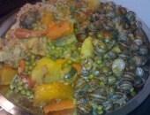 Couscous di babbaluce (lumache) - Sicilia