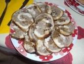 Rotolo di coniglio ripieno disossato (senza verdure)