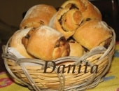 Girelle di pane alla cipolla
