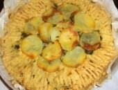 Tortino di purea di patate & bieta