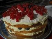 Frutti di bosco e crema...in torta!