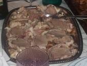 Pollo ripieno con filetto di maiale