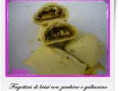 Fagottini di brisé con zucchine e galbanino