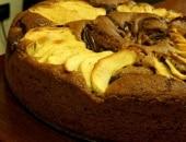 Torta mele, noci e nutella