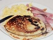 i miei pancakes e...