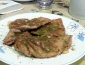 Scaloppine di vitello al profumo di Sicilia