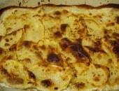 Tortino di patate con mortadella e parmigiano