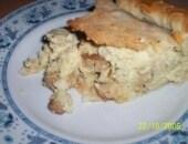 torta salata di funghi porcini e patate