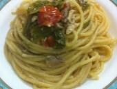 """Spaghetti alla """"Pescatora povera"""""""