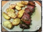 Spiedini con patate al forno!!!!