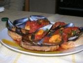 Zuppetta di cozze al pomodoro