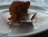 Torta di mele renette, amaretti e cacao