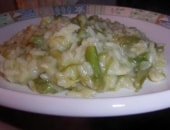 Risotto asparagi e zola al forno!