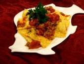 Ravioli di pescespada in salsa di telline