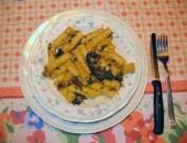 Pasta,Cavoli e Olive Nere.