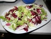 insalata di mele,pecorino e pinoli