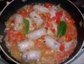 Salsiccia trentina in umido con crauti