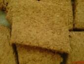 Biscotti con crusca, miele e cereali vari